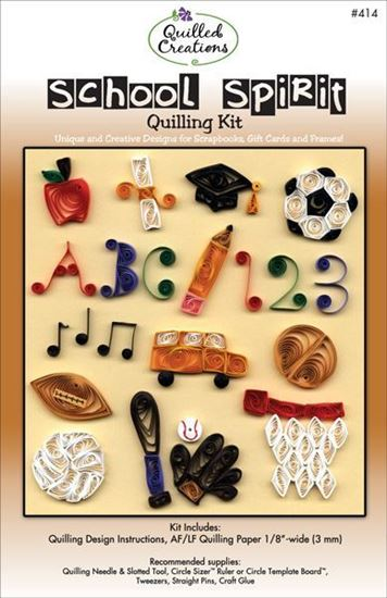 School Spirit Quilling Kit